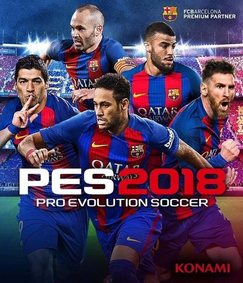 Pro Evolution Soccer 2018 (pes 2018) Steam Pc Key Envio Imed