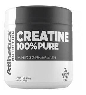 Creatine 100% Pura 100g Micronizada - Creatina - Atlhetica