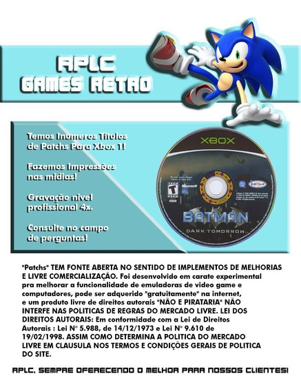 Patchs Xbox