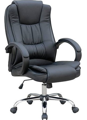 Cadeira Presidente Mb-c730 Base Cromada Travel Max