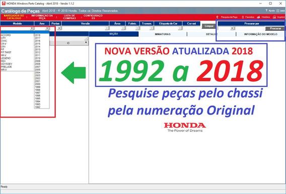 Catálogo Eletrônico Peças Honda Brasil Civic + 2010 Ate 2018