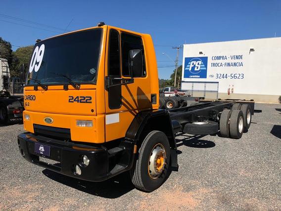 Ford Cargo 2422 6x2 Reduzido Fs Caminhoes