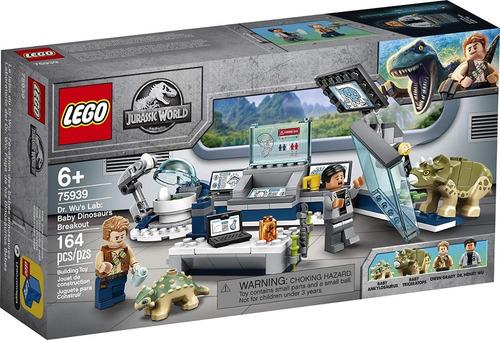Lego Jurassic World 75939  Laboratorio Del Dr. Wu 164 Pzs