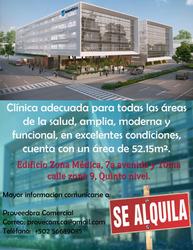 Alquiler De Preciosa Clínica Médica, Completamente Nueva.