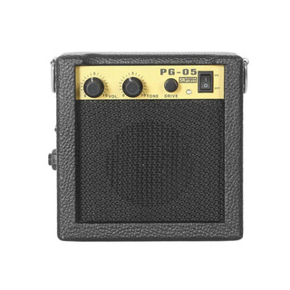 E Onda * Pg -05 5w Portátil Guitarra Amplificador Guitarra