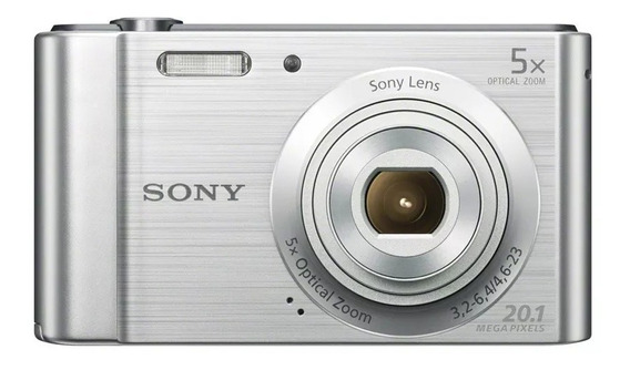 Câmera Digital Sony W800 Cyber Shot 20.1 Mp 16gb Com Nf