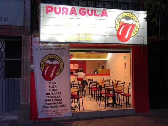 Venta / Traspasó Restaurante Pura Gula