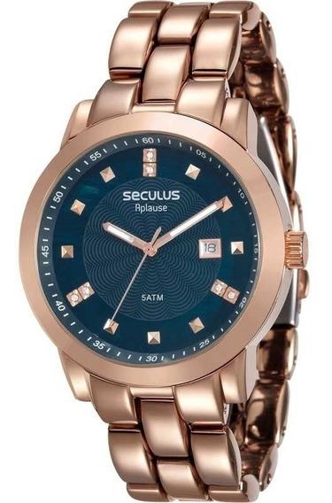Relógio Seculus Feminino Casual Rose 20422lpsvra8