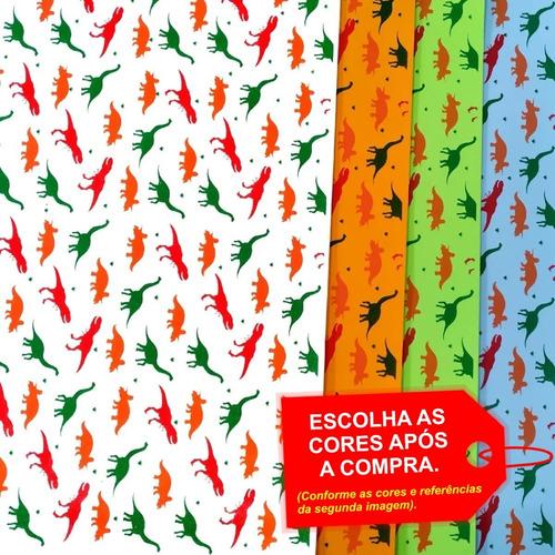 Folha De Eva Estampado Dinossauro 40x60cm - 5 Unidades