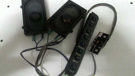 Alto Falantes 26ld330 Com Sensor E Teclado.
