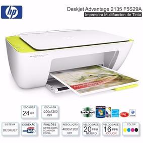 Impressora Hp Deskjet 3x1 2135 Multifuncional Frete Grátis