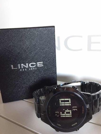 Relógio Digital Feminino Lince Sdph085l Preto Pulseirabrinde