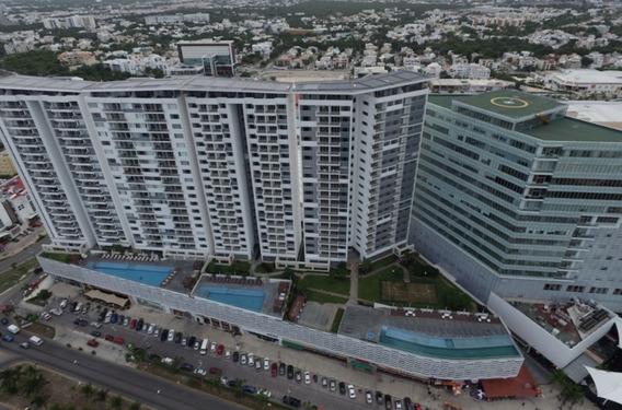 Departamento En Venta Malecon Americas Puerto Cancun