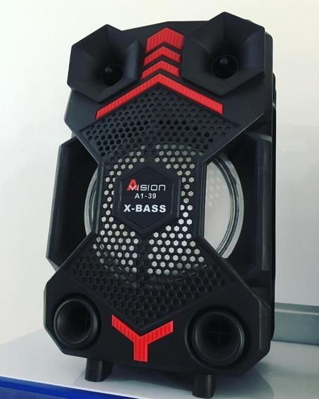 Caixa De Som Bluetooth Amplificada Avision A1-39 Original