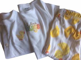 Conjunto Pijama De Bebê 6 Meses - Carter