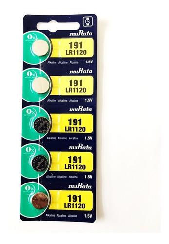 Pila Murata/sony 191 Lr1120 1.5v Alcalina Pack X 5