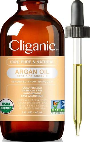 Imagen 1 de 4 de Aceite De Argán Orgánico 100% Puro Prensado En Frio