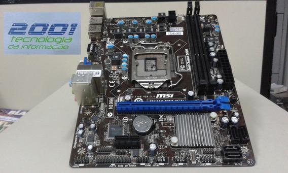 Placa-mãe - Desktop - Msi H61m-e22 (g3) - Defeito