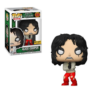 Funko Pop Rocks #69 Alice Cooper Exclusive Nortoys