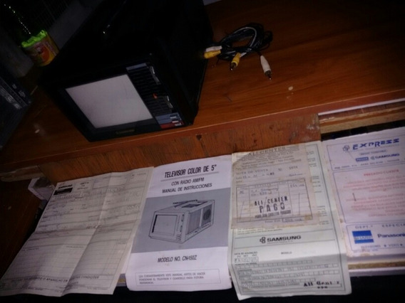 Antiga Tv Samsung Collor Sem Fonte A Retirar