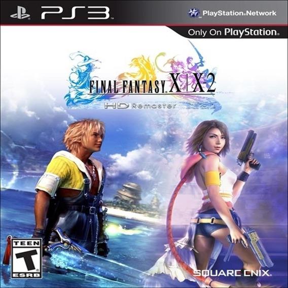 Final Fantasy X/x-2 Hd Remaster Ps3 Mídia Física Lacrada