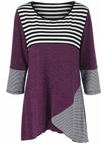 Vestido Feminino Blusa Blusão Lycra Importado 465