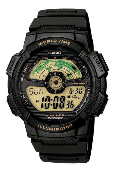 Relógio Casio Masculino Digital Esportivo Ae-1100w-1bvdf