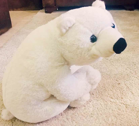 Juguete Peluche Oso Polar