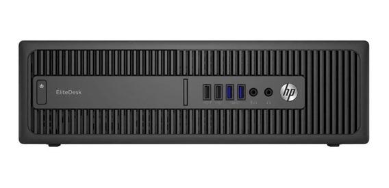 Cpu Hp Elitedesk 800 G2 Core I5 6ªg Ssd 240gb 4gb Ram Wifi