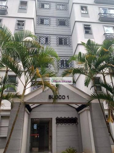 Apartamento Com 2 Dormitórios, 62 M² - Venda Ou Aluguel - Jardim Santa Cruz (sacomã) - São Paulo/sp - Ap5359
