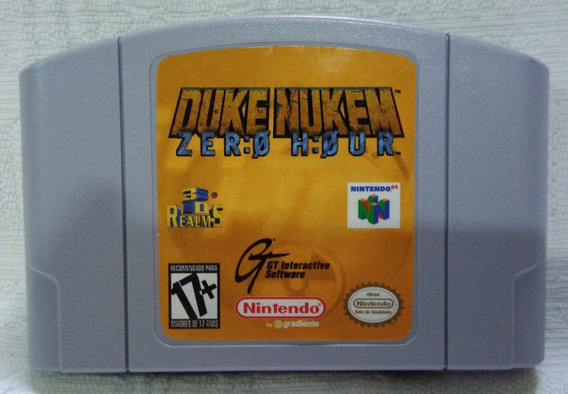 Cartucho Nintendo 64 Duke Nukem Zero Hour Usa