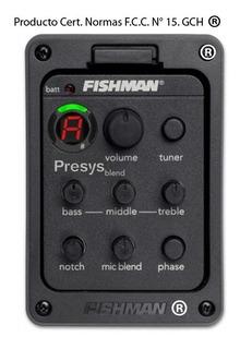 Cápsula-ecualizador Fishman Presys Blend 301 Ac P-guitarra