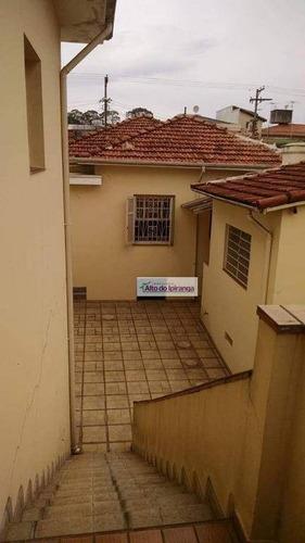 Casa Com 3 Dormitórios À Venda, 300 M² Por R$ 950.000,00 - Jardim Da Saúde - São Paulo/sp - Ca0257