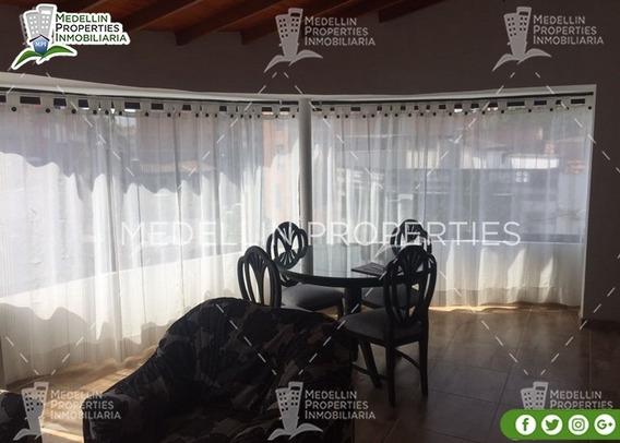 Alquiler Temporal De Apartamentos En Medellín Cód: 4845