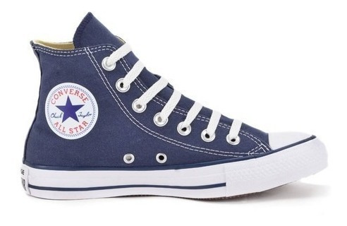 Tênis Converse All Star Azul Cano Alto Ct00040003