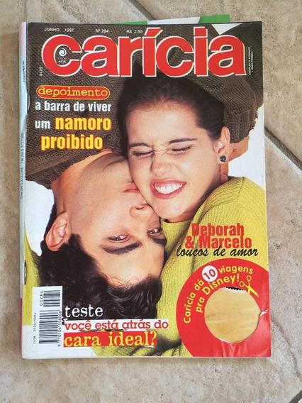 Revista Carícia 284 Deborah Secco Marcelo Mateus Rocha B891