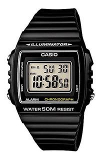 Reloj Hombre Casio W-215h-1av Negro Digital / Lhua Store