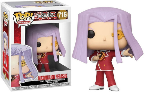 Funko Pop! Yu - Gi - Oh! - Maximillion Pegasus #716