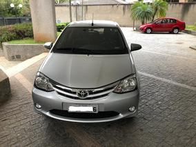 Toyota Etios Prata 1.5 Xls Automático