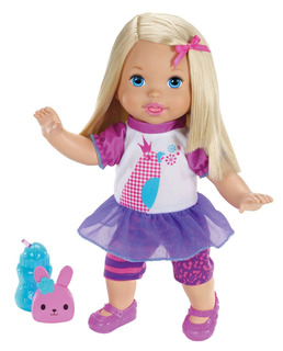 Little Mommy Muñeca Habla Conmigo Mattel Original Graba