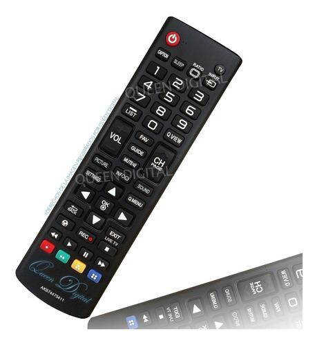 Imagen 1 de 10 de Control Remoto Para LG Led Tv Lcd Akb74475411 Lf5700 B560b