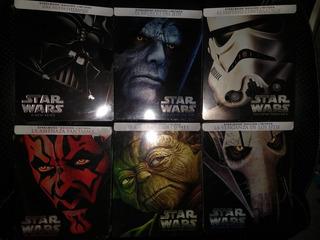 Star Wars Colección Blu Ray Steelbook