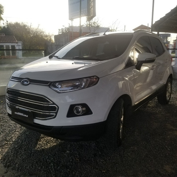 Ford Ecosport 1.6 Titanium 2014 Cuotas Credito Permuto