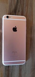 iPhone 6s Rosê Usado + Capinha Transparente