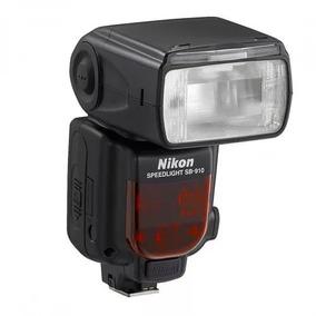 Flash Nikon Sb 910 Com Case Novo Fora Da Caixa Com Nfe