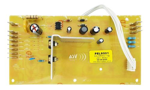 Imagem 1 de 7 de Placa Eletrônica Lavadora Colormaq Lca11 11kg