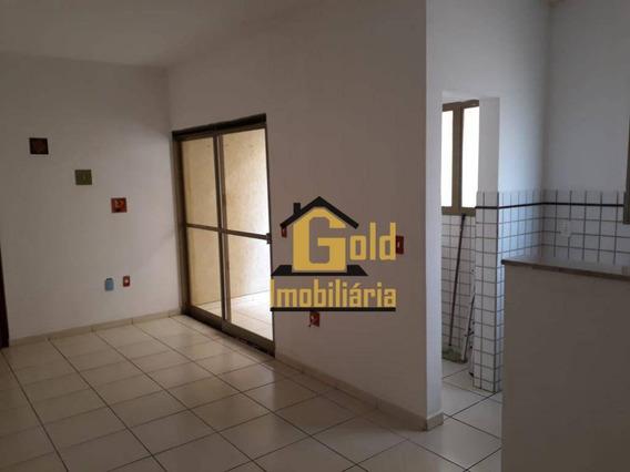 Apartamento Com 1 Dormitórios Para Alugar, 47 M² Por R$ 750/mês - Nova Aliança - Ribeirão Preto/sp - Ap0312
