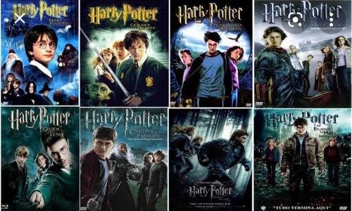 Harry Potter - Coleção De Filmes Completa ( Arquivo )