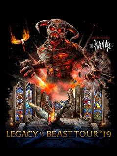 Entradas Iron Maiden Platea Alta - Movistar Arena 14/10/2019