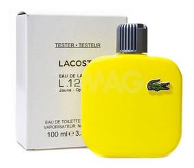 Perfume Lacoste L.12.12 Jaune Optimistic 100ml Sem Caixa